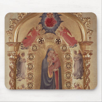 Madonna of the Stars Mouse Pad