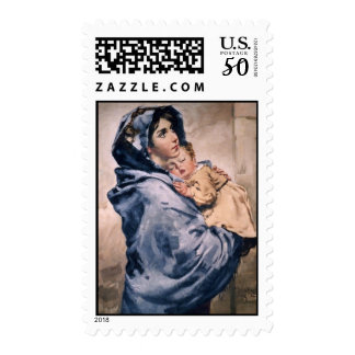 Madonna of the Streets Postage