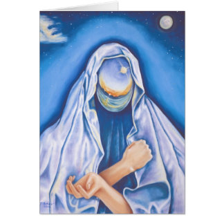 Madonna of the Universe Spiritual Note Card