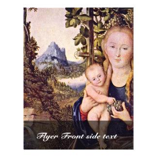 Madonna por Cranach D. Ä. Lucas (la mejor calidad) Tarjeta Publicitaria