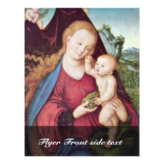 Madonna por Cranach D. Ä. Lucas (la mejor calidad) Tarjeton