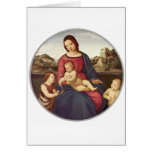 Madonna Terranuova by Raphael Greeting Cards