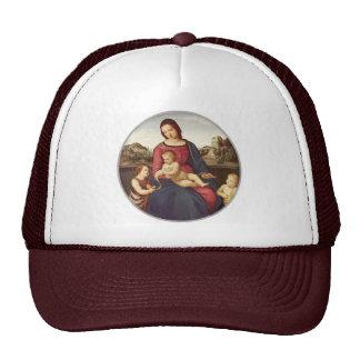 Madonna Terranuova by Raphael Trucker Hat