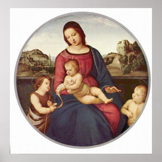 Madonna Terranuova by Raphael Poster