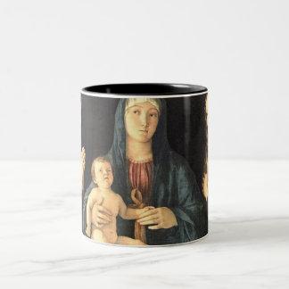 Madonna und zwei Heilige Coffee Mugs