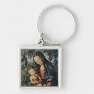 Madonna under the fir tree, c.1510 keychain