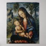 Madonna under the fir tree, c.1510 poster