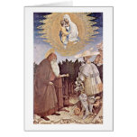 Madonna Vision de Antonio Di Puccio Pisano Tarjeta