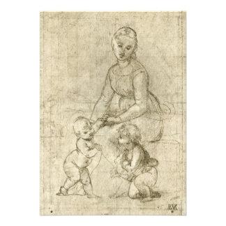 Madonna w Cristo y St John el Bautista por Rapahe