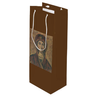 Religious easter gift bags zazzle madonna wine gift bag negle Image collections