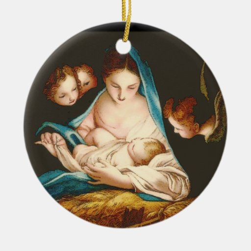 Madonna With Baby Jesus by Carlo Maratta ornament