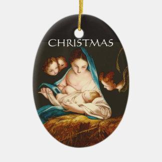 Madonna With Baby Jesus by Carlo Maratta ornament