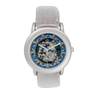 MADONNA WITH CHILD AND ANGELS WRISTWATCHES