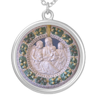 MADONNA WITH CHILD AND SAINTS PENDANT
