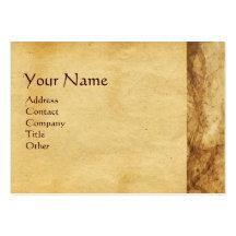 MADONNA WITH CHILD , ANTIQUE PARCHMENT BUSINESS CARD TEMPLATES