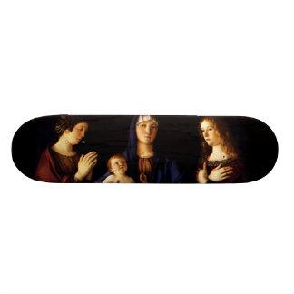 Madonna with Child Jesus - Catherine - Magdalene Skateboard Deck