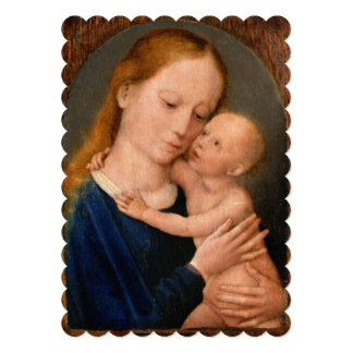 Madonna with Christ Child Card