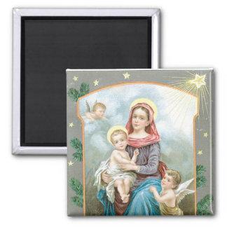Madonna with Christ Child Magnet
