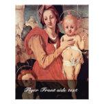 Madonna With John The Baptist By Pontormo Jacopo ( Custom Flyer