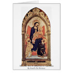 Madonna With St. Julian And St. Laurenzius Greeting Card