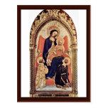 Madonna With St. Julian And St. Laurenzius Postcard