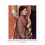 Madonna With St. Nicholas Of Myra Post Cards