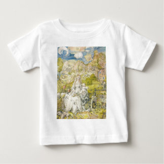 Madonna with the many animals baby T-Shirt