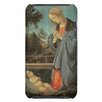 Madonna worshipping the Child, c.1477-80 (oil on p iPod Case-Mate Case