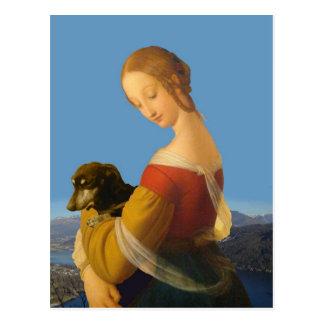 Madonna y arte Tate Gran Bretaña del Dachshund Tarjetas Postales