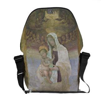 Madonna y el niño, un detalle del tabernacl bolsas messenger
