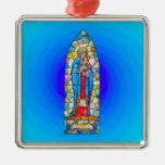 Madonna y estilo del vitral de la natividad del ni ornamentos de reyes magos