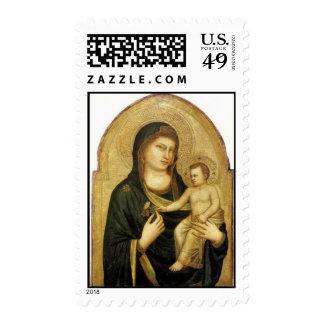 Madonna y navidad de Giotto del niño Franqueo