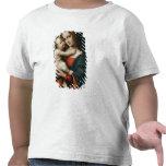 Madonna y niño 2 camiseta