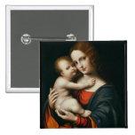 Madonna y niño 2 pins