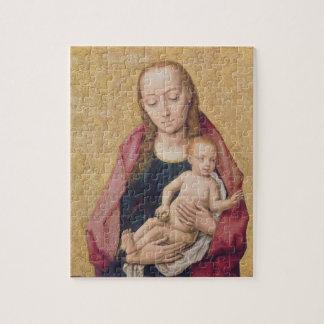 Madonna y niño 2 rompecabeza