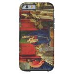 Madonna y niño (Altarpiece de Barbarigo) 1488 Funda De iPhone 6 Tough