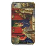 Madonna y niño (Altarpiece de Barbarigo) 1488 iPod Case-Mate Coberturas