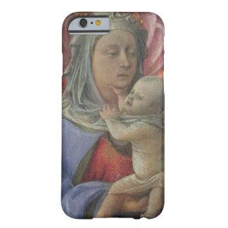 Madonna y niño, c.1430 (tempera en el panel) funda para iPhone 6 barely there