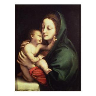 Madonna y niño, c.1510 tarjeta postal
