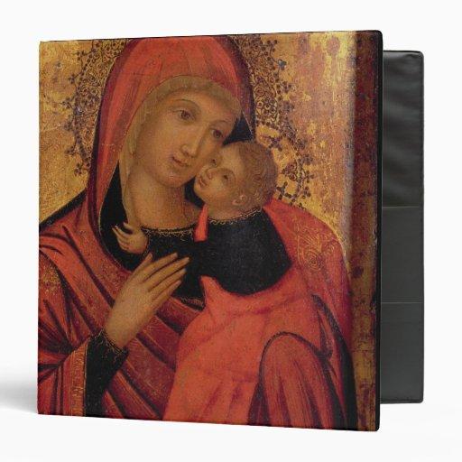 Madonna y niño, c.1650 (el panel)