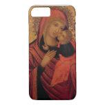 Madonna y niño, c.1650 (el panel) funda iPhone 7