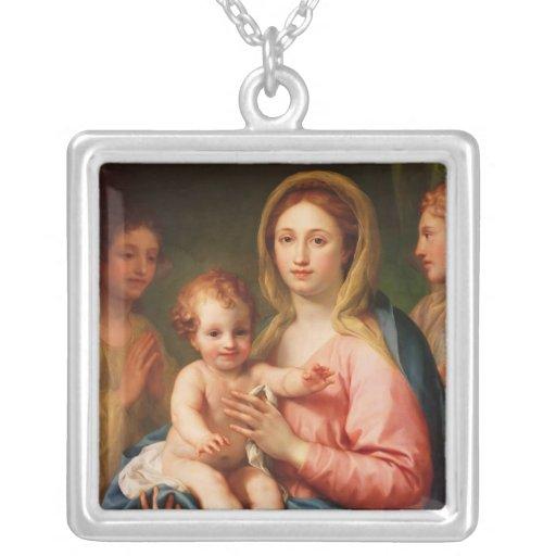 Madonna y niño con dos ángeles, 1770-73 joyería