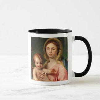 Madonna y niño con dos ángeles, 1770-73 taza