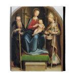 Madonna y niño con el abad y St. N de St Anthony