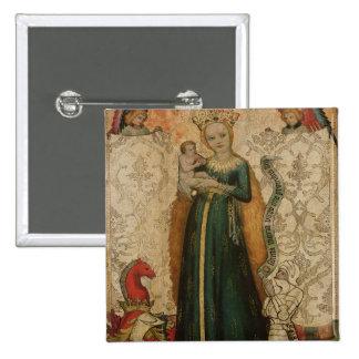 Madonna y niño con las espigas de trigo, 1440-50 pin cuadrado