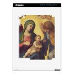 Madonna y niño con los ángeles c.1510-15 (aceite e pegatina skin para iPad 3