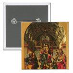 Madonna y niño con los santos, 1499 pin cuadrado