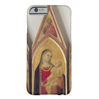 Madonna y niño con los SS. Nicholas y Proculus, Funda Para iPhone 6 Barely There