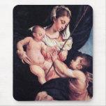 Madonna y niño con San Juan Bautista Tapete De Ratón