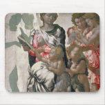 Madonna y niño con St. John, c.1495 Alfombrillas De Raton
